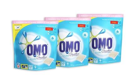 $34 OMO Sensitive Liquid Laundry Capsules Don't Pay $64.32