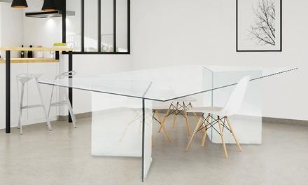 Tavolini Di Vetro Design.1 O 2 Tavolini Evergreen House Di Vetro Temperato Trasparente