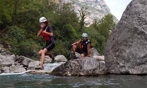 Garda Survival Experience: River Trekking anche notturno nella zona del Garda Trentino con snack e bevanda inclusi (sconto fino a 72%)