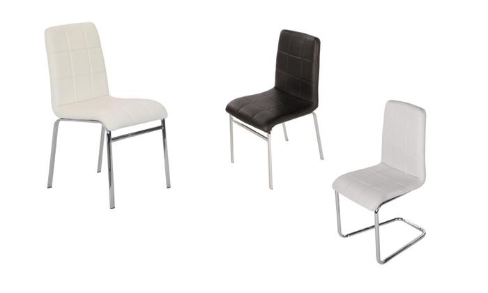 24 Design Stoelen.Italiaans Design Stoelen Groupon Goods