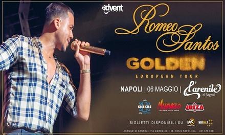 Romeo Santos a Napoli
