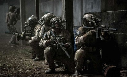 image for Four Hours of Airsoft Play Including Pellets for Up to Eight at Tac House Spartan (54% Off)