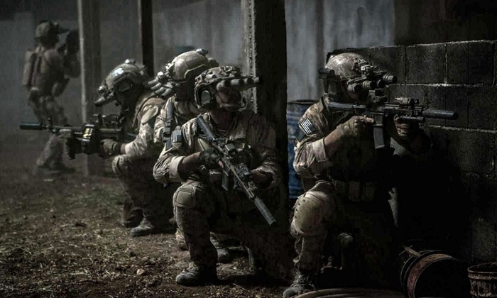 Four Hours of Airsoft Play Including Pellets for Up to Eight at Tac House Spartan (54% Off)