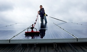 The Window Specialists, LLC: $80 for Solar Panel Cleaning ($125 Value) — The Window Specialists, LLC