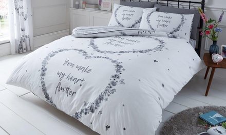 Gaveno Cavailia You Make My Heart Flutter Duvet Set