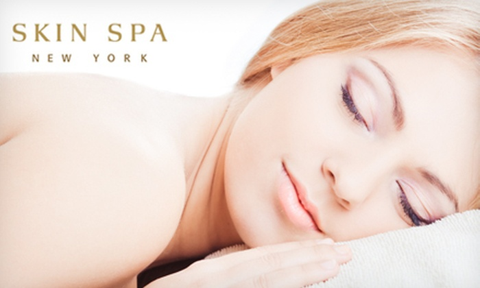 Skin Spa New York - Multiple Locations: One, Three, or Five Swedish Massages or Customized Facials at Skin Spa New York (Up to 60% Off)