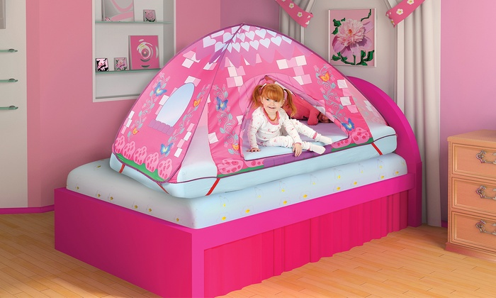 Car Or Princess Bed Tent Topper Groupon Goods