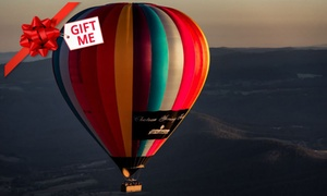 Go Wild Ballooning: $239 for a Midweek Hot Air Balloon Flight for One Person with Go Wild Ballooning, Yarra Valley (Up to $330 Value)
