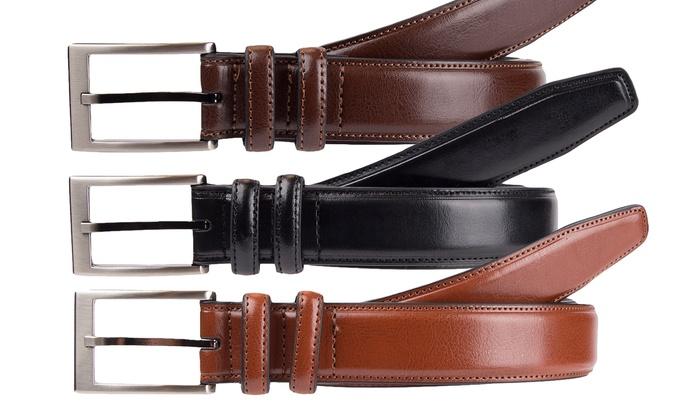 Geoffrey Beene Men's Dress Belts