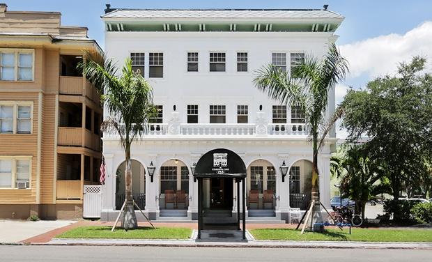 The Cordova Inn - St. Petersburg, FL: Stay at The Cordova Inn in St. Petersburg, FL. Dates into December.