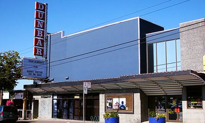 Two or Four Tickets and Popcorn at The Dunbar Theatre (Up to 44% Off)