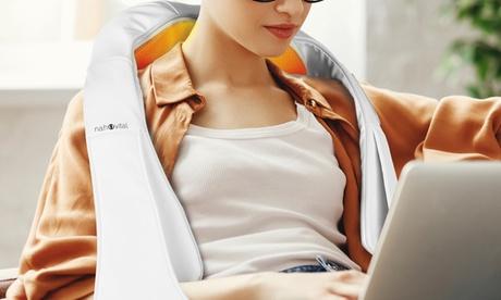 nah-vital Shiatsu-Massagegerät für Knet- und Vibrationsmassage in Weiß