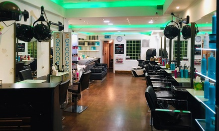 Wash, Cut, BlowDry and Half or Full Head of Highlights, Full Head of Colour or Balayage at C and A Hair