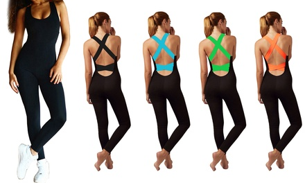 GPCT Women's Fitness Jumpsuit