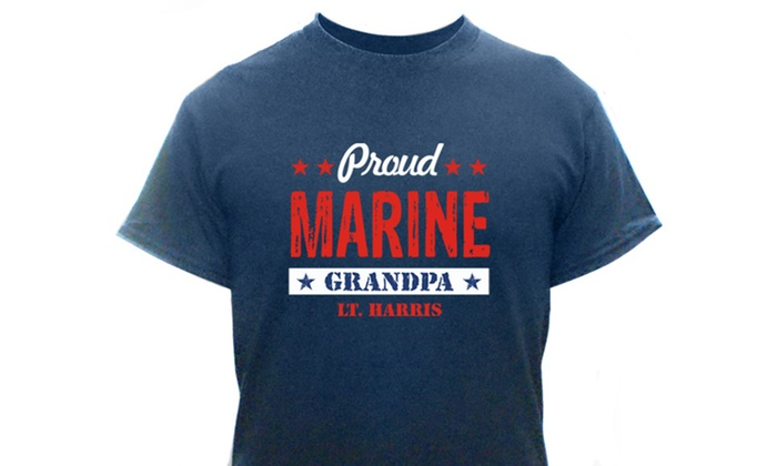 Personalized Proud Military Shirts for Men and Women
