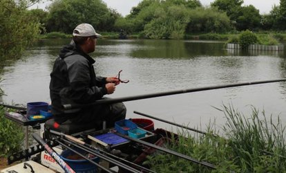 image for Full Day's Fishing with a Choice of Bait at Alders Farm Fishery (48% Off)