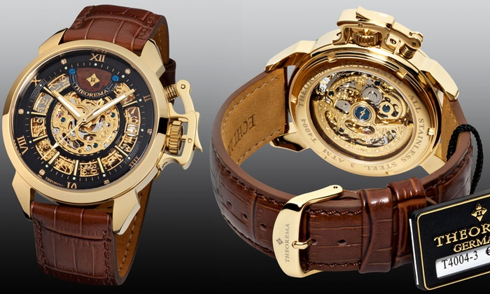 Mens Theorema Newton Automatic Watch