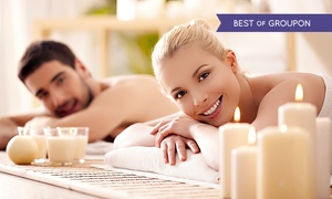Body Lounge Spa: Couples Hot-Stone Massage with Wine and Chocolate, a Private Couples Retreat, or Both at Body Lounge Spa (Up to 70% Off)