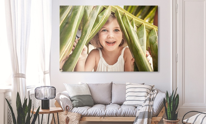 One or Two Custom XXXL Canvas Prints with Optional Shipping from CanvasOnSale