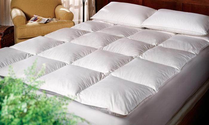 premium down alternative fiber mattress topper plumadown premium down alternative fiber mattress topper
