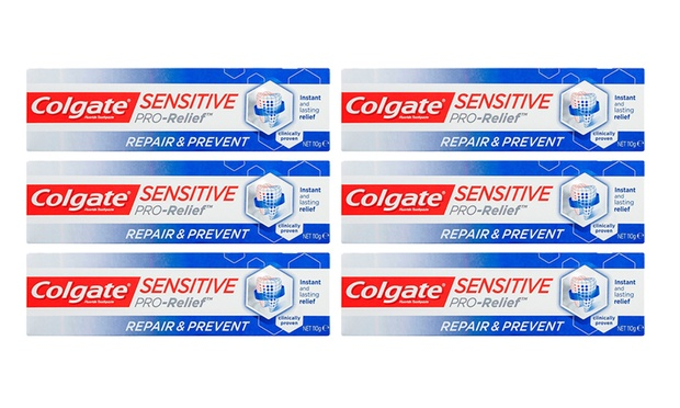 $19.95 for Six Tubes of Colgate Sensitive Smart White or Repair and Prevent Toothpaste (Don't Pay up to $79.50)