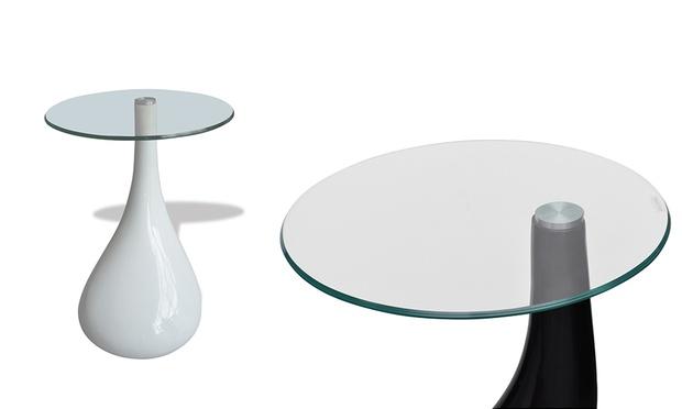 Wohnzimmertisch mit glasplatte dealmix for Wohnzimmertisch mit glasplatte