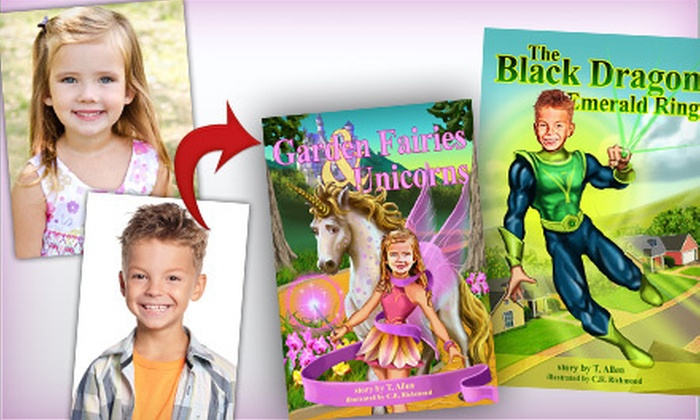 Red Star Publishers - Downtown Springfield: $20 for a Personalized Children's Book Featuring Your Child from Red Star Publishers (Up to $45.95 Value)