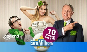 Lottoland: Ten EuroMillions line bets from Lottoland (50% Off)