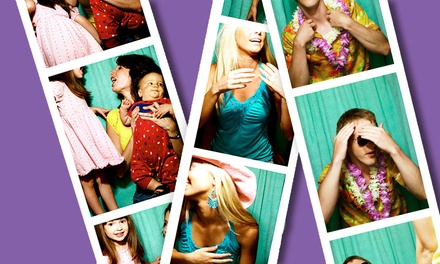 Two- or Three-Hour Photo-Booth Rental from Galaxy Mobile DJs (Up to 61% Off)