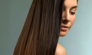 On Hair Salon: Haircut and Color, Japanese Straightening Treatment, or Brazilian Blowout at On Hair Salon (Up to 55% Off)