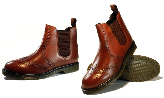 23781be325e Oaktrak Belper Chelsea Boots | Groupon Goods