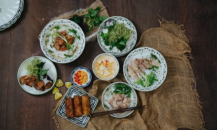 ThreeCourse Vietnamese Meal with Optional Drink for Two or Four at Viet Eat Holborn
