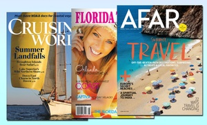 $12 For $25 Worth Of Magazine Subscriptions From Blue Dolphin Magazines