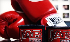 JAB Fitness: One Month of Unlimited Classes at JAB Fitness (Up to 77% Off). Three Options Available.