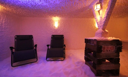 One or Three 45-Minute Salt-Room or 20-Minute Sauna Sessions at Hygea Wellness Co & Salt Room (Up to 61% Off)