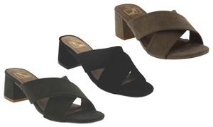 Women's Luciana Low-Heel Sandals