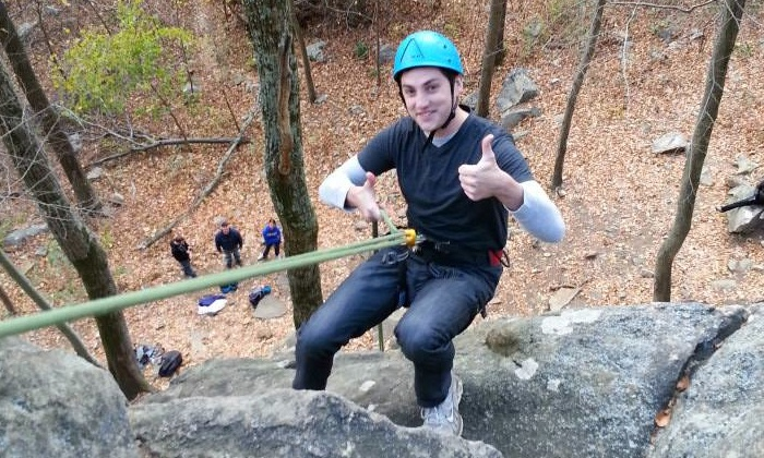 Northeast Mountain Guiding - Bangor Central Historic District: Outdoor Rappelling Clinic for One or Two from Northeast Mountain Guiding (Up to 59% Off)