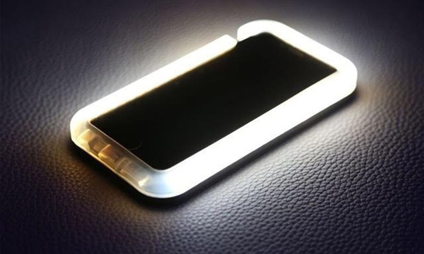 Light-Up LED Selfie iPhone Case  dddc9ab01