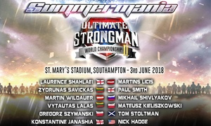 Ultimate Strongman: Ultimate Strongman, Child, Adult or family Tickets, Sunday 3 June, Southampton (Up to 44% Off)