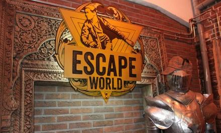 Escaperoom naar keuze voor 2 tot 5 personen bij Escape World Amsterdam Harbour