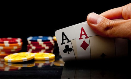 $89 for a FourHour Poker Cruise with Nibbles and Drinks Package with Poker Afloat, Docklands $249 Value