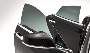 Tint Action of Utah: Windshield Strip or SunTek Carbon Window Tinting at Tint Action of Utah (Up to 48% Off). Four Options Available.