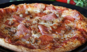 Zilio's Artisan Pizza: Pizza Meals for Two or Four at Zilio's Artisan Pizza (Up to 53% Off)