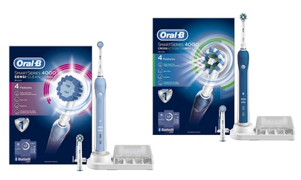 Oral-B Smart Series: 3D White, Cross Action or Sensi-Clean Toothbrush from £49.99 With Free Delivery (Up to 58% Off)