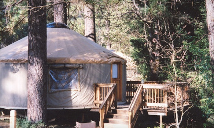 Yosemite Lakes - Twain Harte-Tuolumne City: $109 for a Two-Night Stay for Up to Four in a Hillside Yurt at Yosemite Lakes in Groveland ($218 Value)