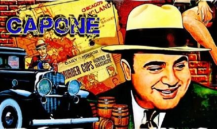 Juego de escape ''El legado de Al Capone'' para 3, 4 o 5 personas en MasterExit (hasta 33% de descuento)