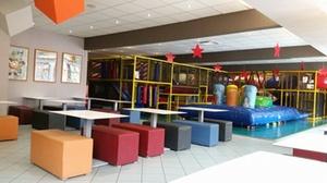 Lunchroom Broekveld Indoor speeltuin: Inkom binnenspeeltuin met pannenkoek aan 4,99€  bij Binnenspeeltuin Broekveld Herent (Leuven)