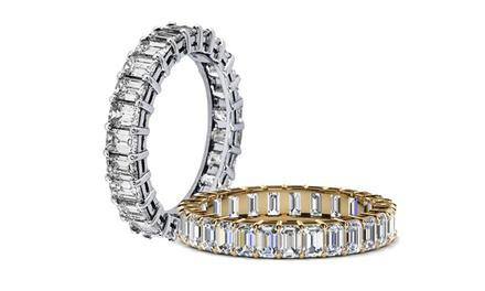 18K Gold Plated Eternity Ring