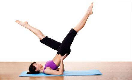 $59 for 10 Drop-In Yoga and Pilates Classes at Pilates + Yoga Studio ($120 Value)