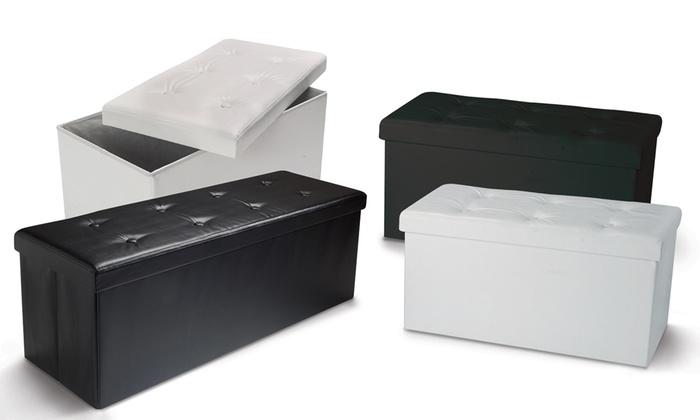 Panca Imbottita Contenitore : Panca contenitore groupon goods